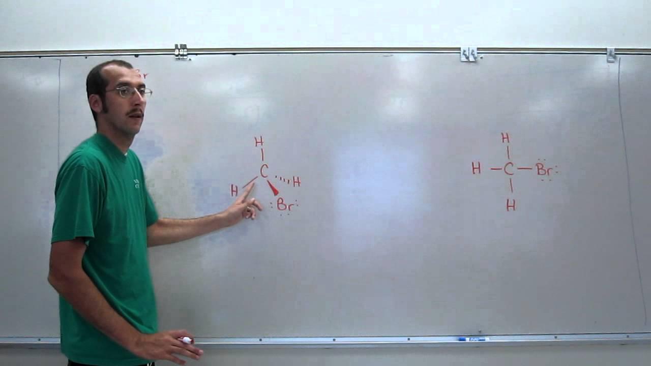 VSEPR Theory  Methyl Bromide (CH3Br) 002  YouTube