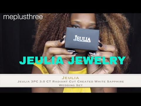 wedding ring 3pc set JEULIA JEWELRY