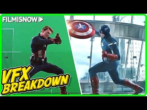 AVENGERS: ENDGAME | Cap Vs Cap VFX Breakdown