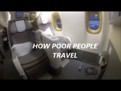 HOW POOR PEOPLE TRAVEL WITH EMIRATE