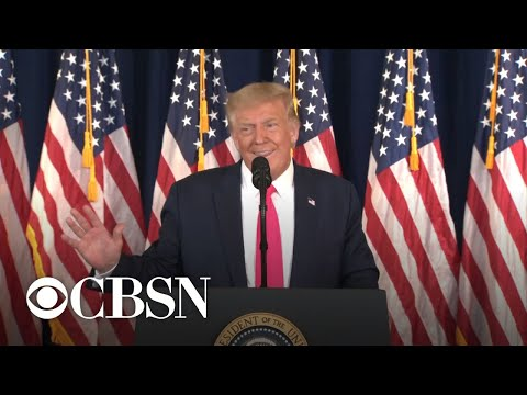 Trump leaves press conference when pressed on Veteran's Choice misinformation