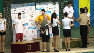Men's 1500m freestyle, Medal Ceremony - Hungarian National Swimming Championship 2012