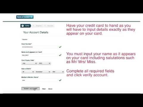 Credit Card Care Registration