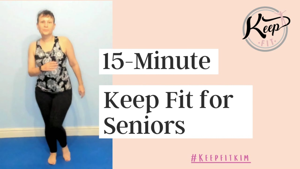 Keep Fit with Kim - Monday Aerobics for Seniors