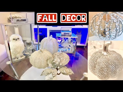 DECORATE WITH ME FOR FALL 2019 | GLAM DECORATING IDEAS