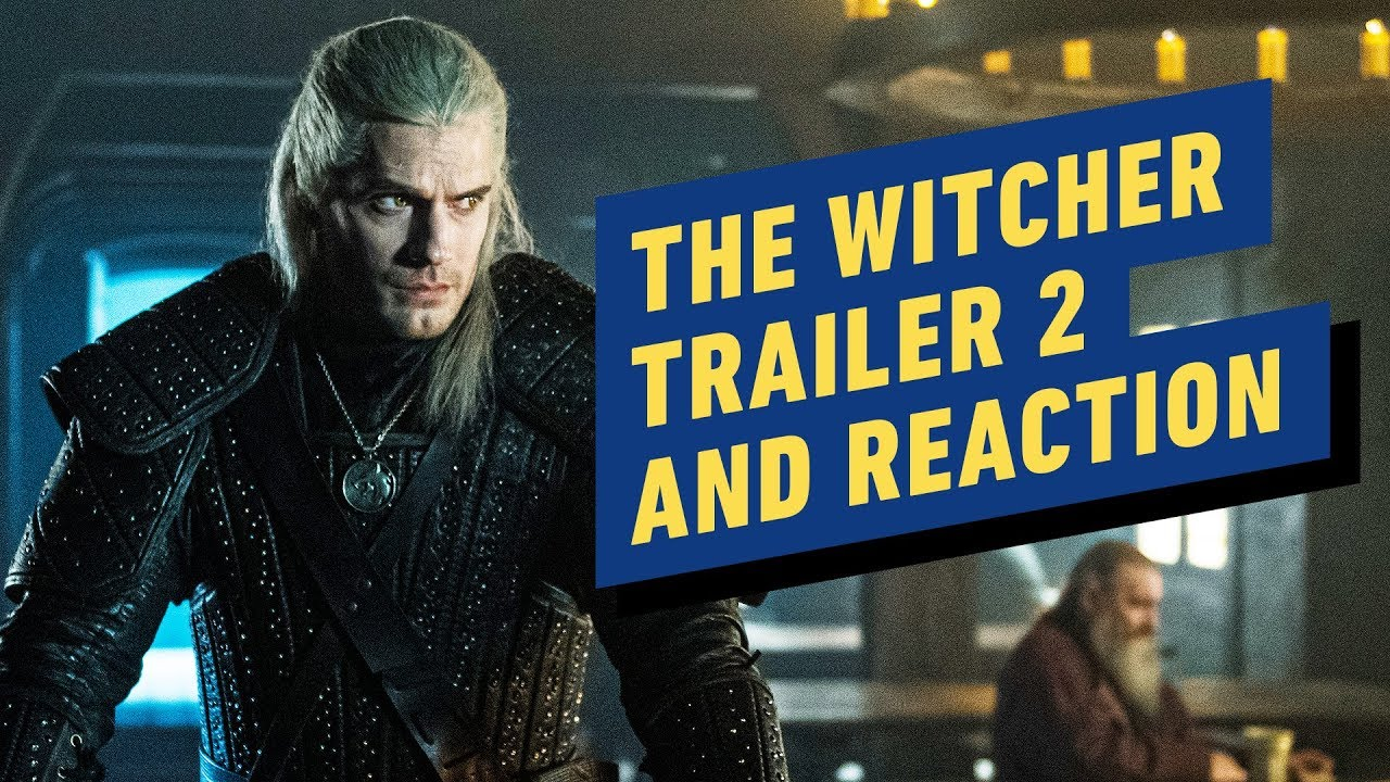 The Witcher Trailer # 2 y reacción de Netflix + vídeo