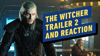 Netflix's The Witcher Trailer #2 And Reaction
