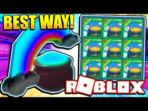 BEST WAY TO GET POT O' GOLD PET IN BUBBLE GUM SIMULATOR! Roblox