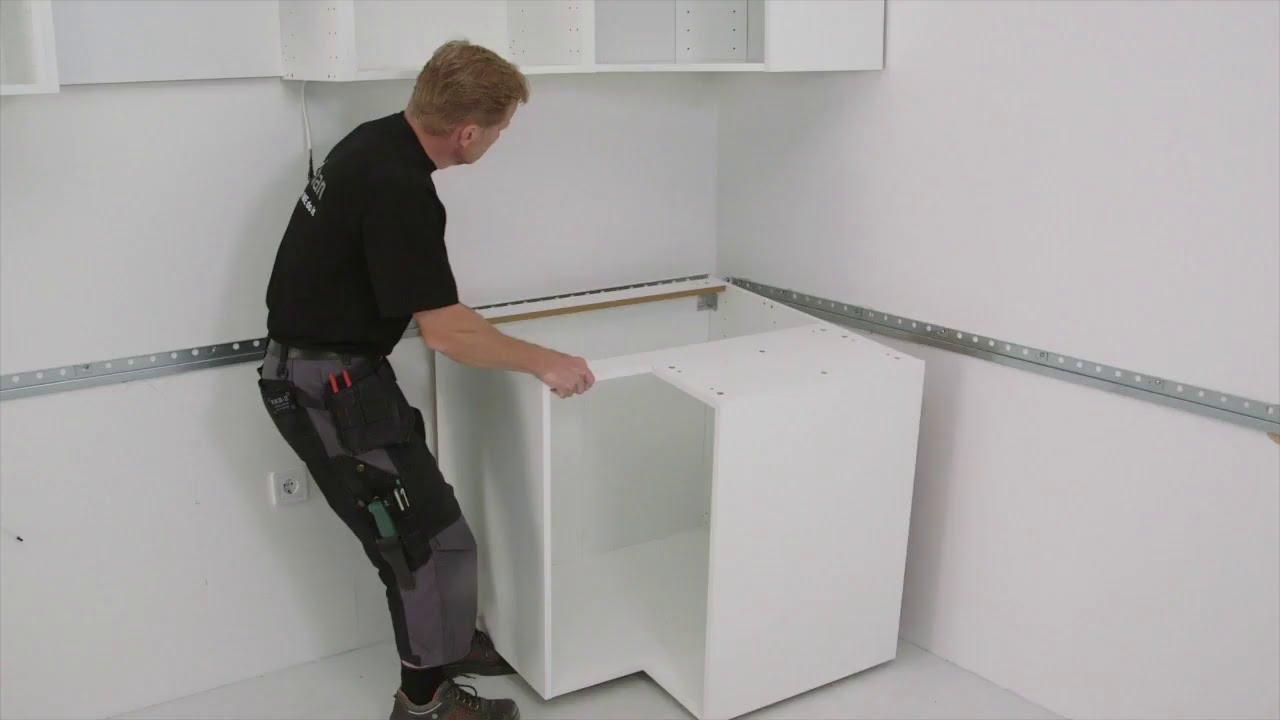 Ikea Metod Kitchen Installation 3 7 Installing The Cabinets Ikea Australia Youtube