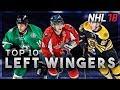 NHL 18 Ratings Predictions (Top 10 Left Wingers)