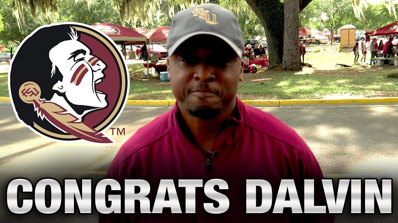 FSU Legend Warrick Dunn Congratulates Dalvin Cook On