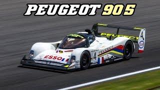 1993 Peugeot 905 EVO 1B - V10 F1 scream at Spa Classic 2018