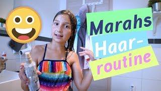 Marahs Haar Routine / Pflege Routine / kinder_sein / frau_sein
