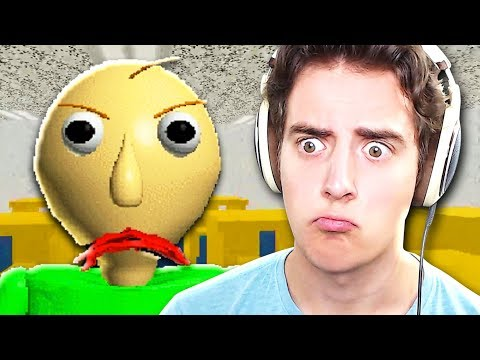 WEIRDEST HORROR GAME EVER!! | Baldi's Basics