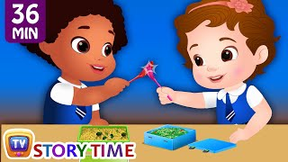 The Lunch Thief | Plus Many More Bedtime Stories For Kids in English | ChuChu TV Storytime thumbnail