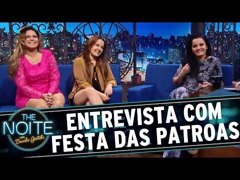 The Noite (24/03/16) - Entrevista Com Marília, Maiara E Maraisa (Festa Das Patroas)