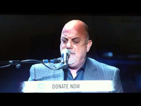 Billy Joel preforming at 12.12.12 Concert for Sandy Relief
