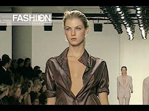 CALVIN KLEIN Spring Summer 2001 New York - Fashion Channel