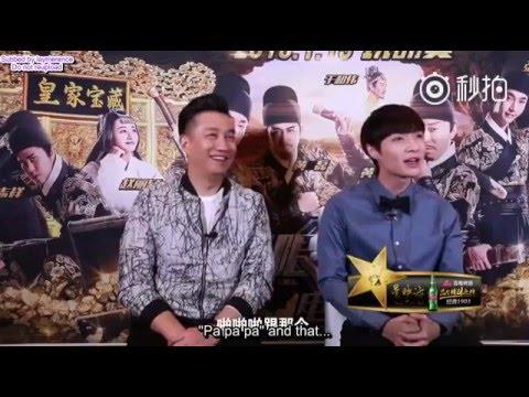 "160115 Tudou XYH - Yixing clip ""pa pa pa"" (ENG SUB)"