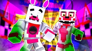 Funtime Foxy And Mangle Get Infected ?!   Minecraft FNAF Roleplay
