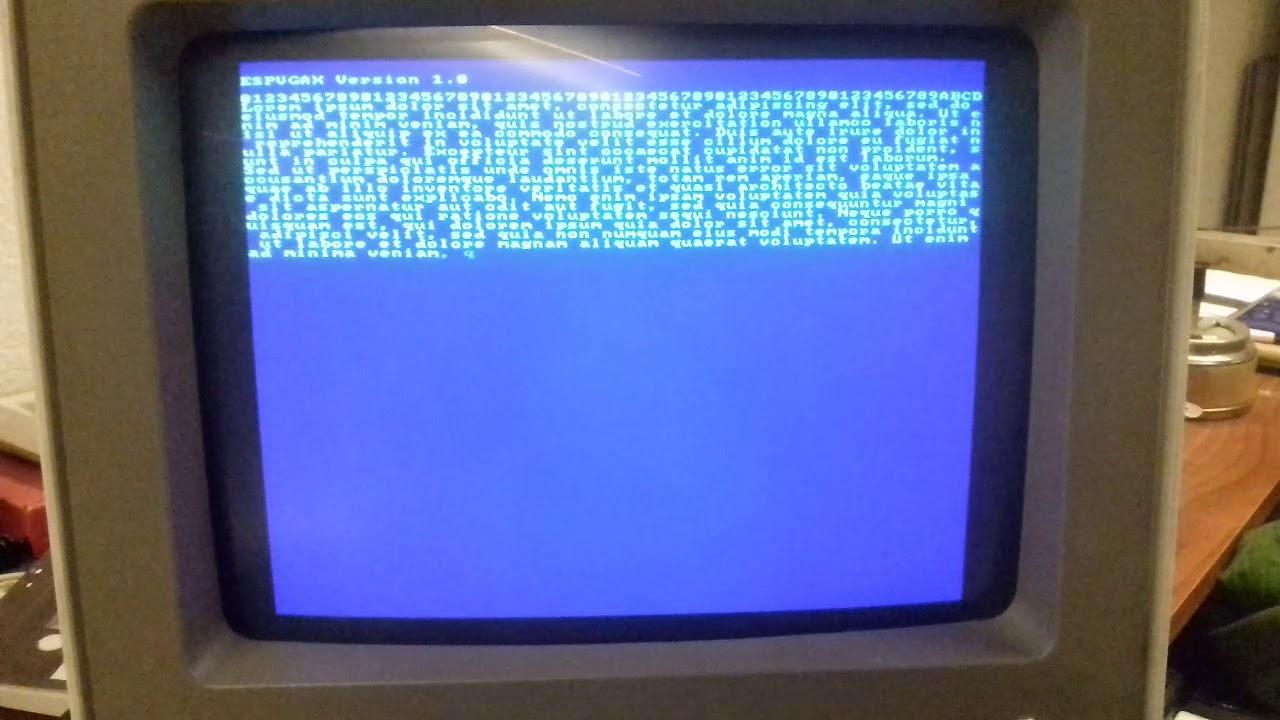 ESP8266 VGA Library