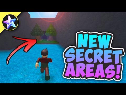 Exploring SECRET AREAS! (WALK ON WATER...