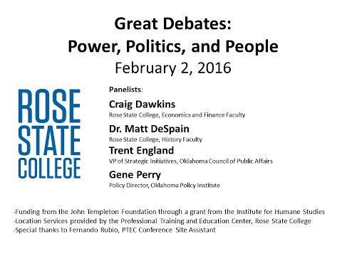Great Debates: Power, Politics, & People - February 2, 2016