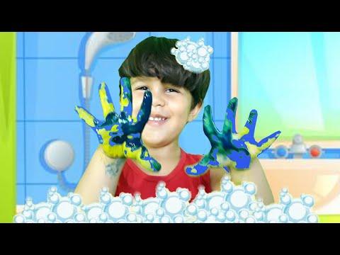 MÚSICA DO BANHO DO PRÍNCIPE DIDO - CLIPE OFICIAL ♫ Bath Song   Nursery Rhymes & Kids Songs