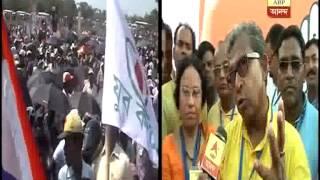Ghatal Congress candidate Manas Bhuiya alleges terror