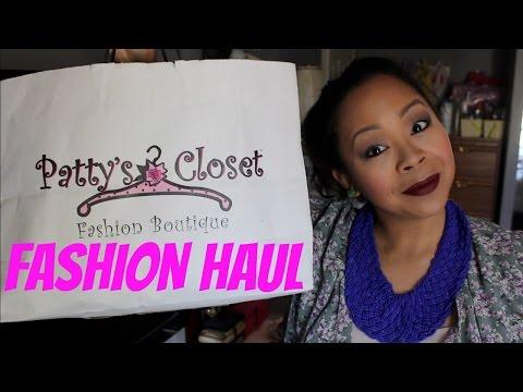 SPRING FASHION HAUL   PATTY'S CLOSET   MommyTipsByCole