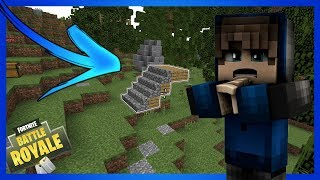 ✔️FORTNITE ON MINECRAFT! INCREDIBLE 😱
