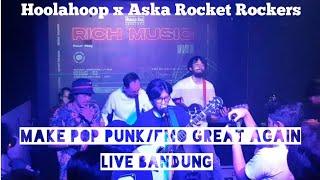 Hoolahoop X Aska Rocket Rockers - Perjalanan Terindah [Live]