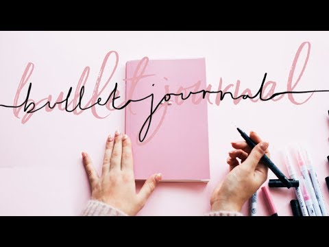 2018 BULLET JOURNAL SET UP + CHATTY STATIONERY HAUL | Hello October