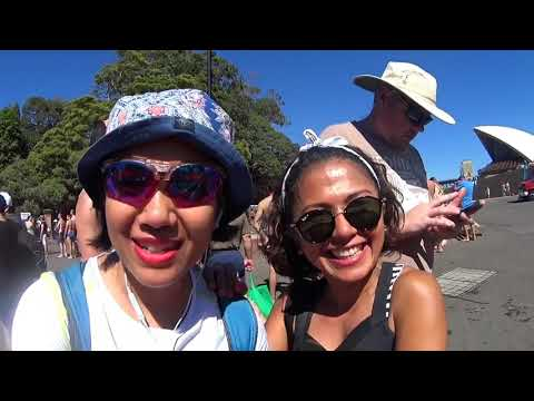Supporting a friend at Swim Sydney Harbour 2018