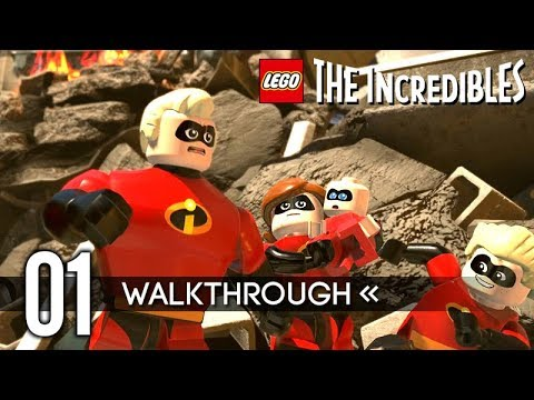 LEGO THE INCREDIBLES – Part 1 – Gameplay Walkthrough / No Commentary 【FULL GAME】