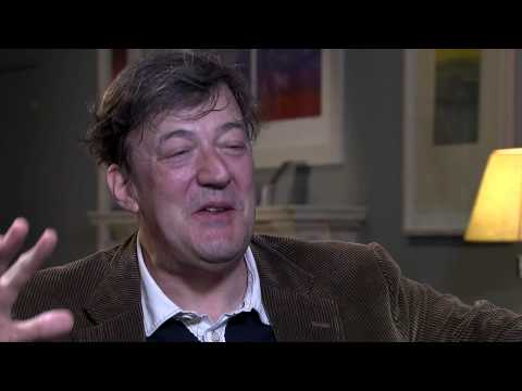 Stephen Fry speaks with Sir David Tang about the HKTDC Hong Kong Book Fair