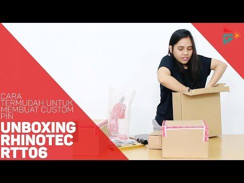 Cara Termudah Untuk Membuat Custom PIN & Unboxing Rhinotec RTT06