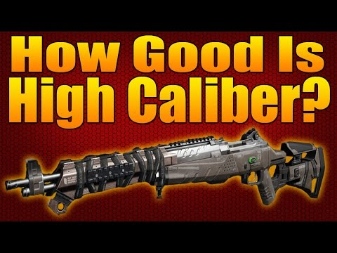 How Good Is High Caliber?  w/ ImMarksman  (Black Ops 3 Attachment Stats and Analysis)