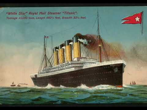 RMS Titanic: Alexander's Rag Time Band - Gottlieb's Orchestra, 1911