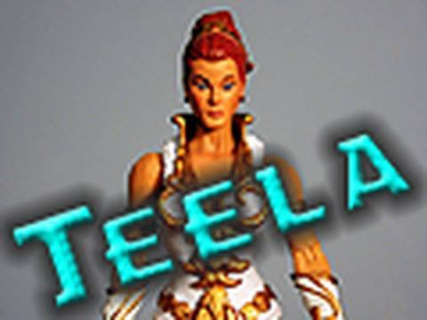 Masters of the Universe Classics: Teela Review - YouTube