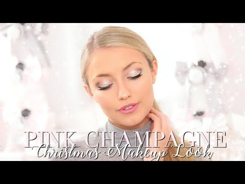 PINK CHAMPAGNE NEW YEARS EVE MAKEUP LOOK ~ Freddy My Love