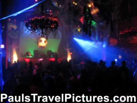 Seminole Hard Rock Hotel Casino Hollywood FL Opium Night Club Halloween 2010 Gogo Pole Dancer ...