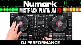 Numark Mixtrack Platinum FX - DJ Performance