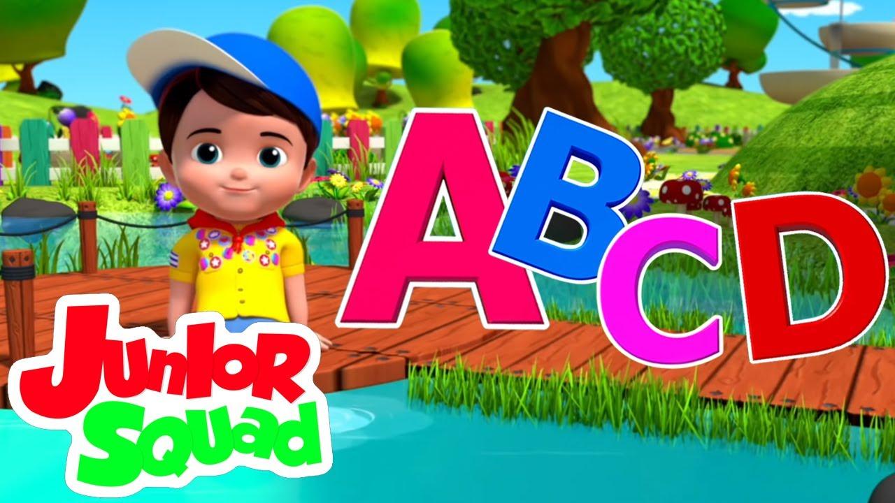 أغنية ABC   رسوم متحركة للاطفال   Junior Squad   القوافي باللغة العربية
