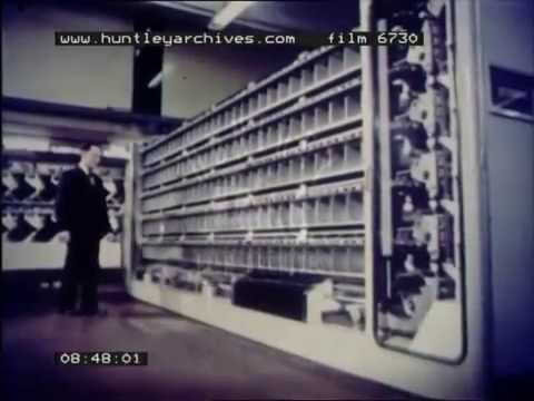 Post Office Sorting, 1970's - Film 6730