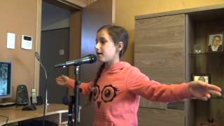 Sarah 10 ans - Avenir (Cover Louane)