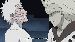 Fight Naruto & Sasuke vs Madara Ending Fight 60FPS HQ