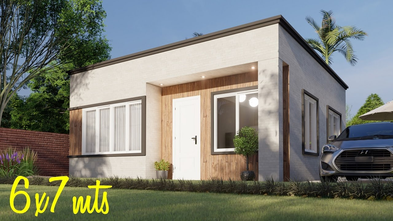 Download Casa de 6x7 metros | Planos de casas pequeñas