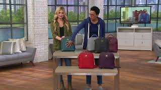 Dooney & Bourke Saffiano Leather Pod Backpack on QVC