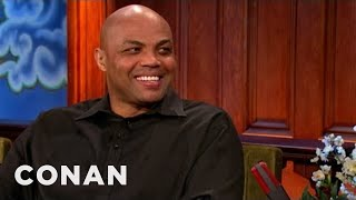 Charles Barkley Drops Hints About His New Job Out West - CONAN on TBS